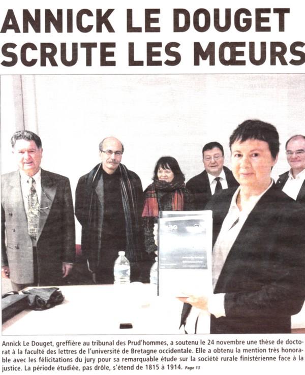 Annick Le Douget