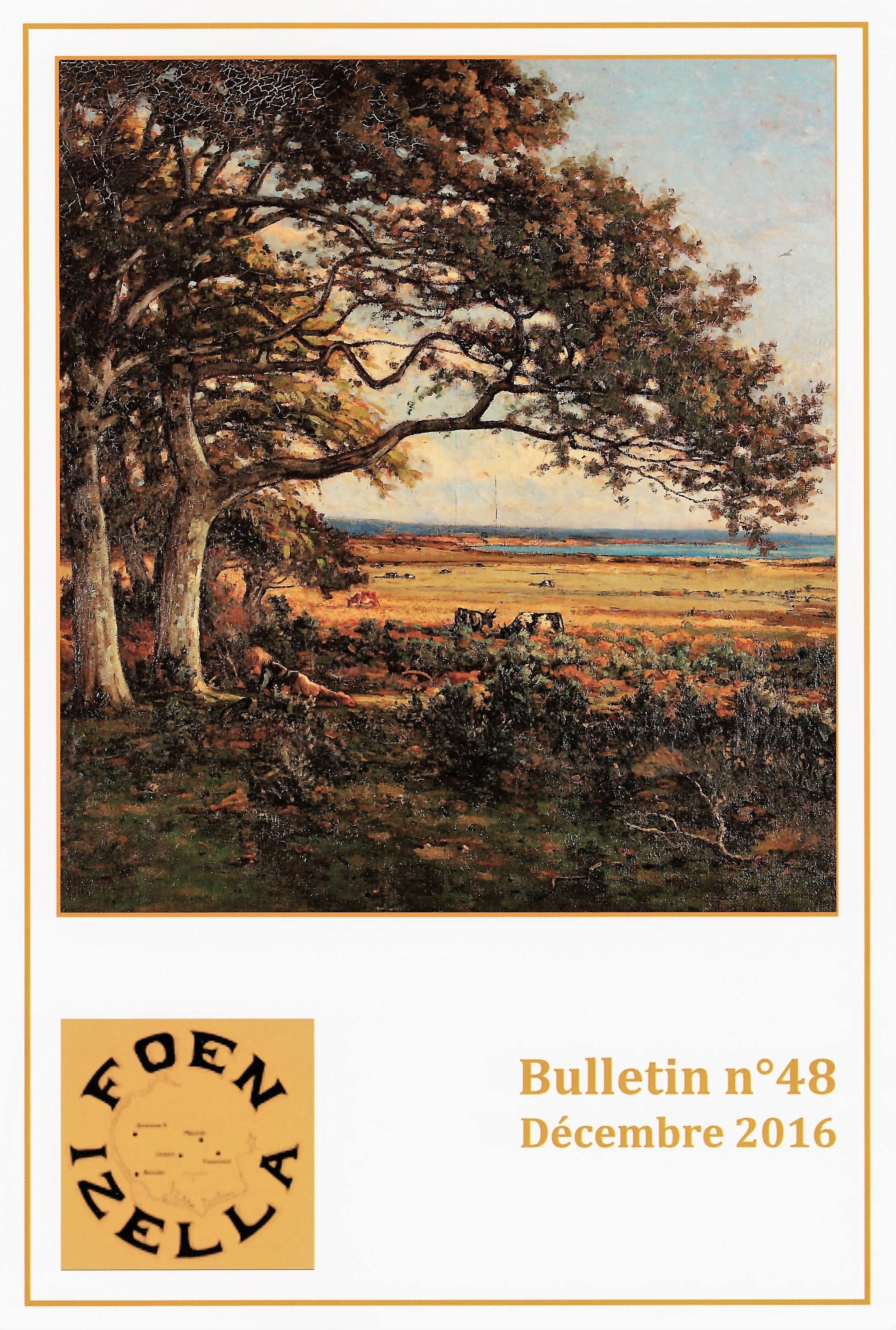 Sommaire du bulletin N° 48 Foen Izella